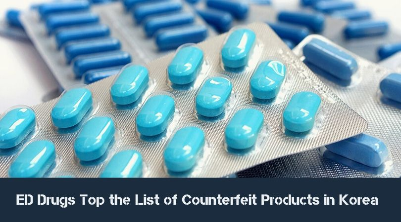 ED Drugs Top the List of Counterfeit Products in Korea