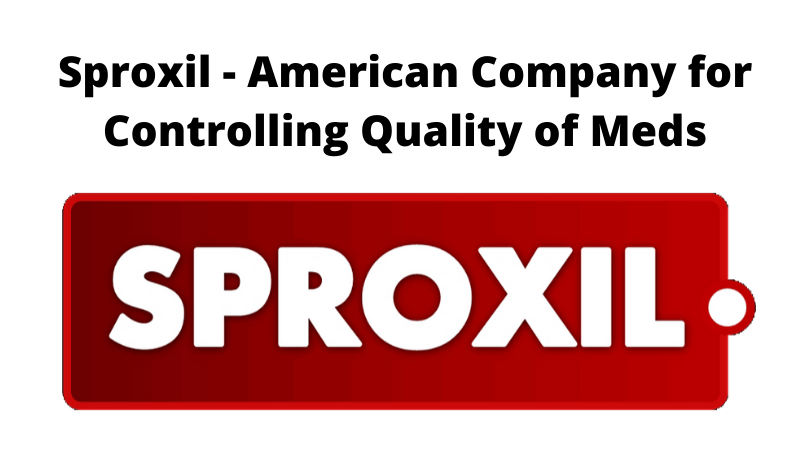 Sproxil - American Company for Controlling Quality of Meds