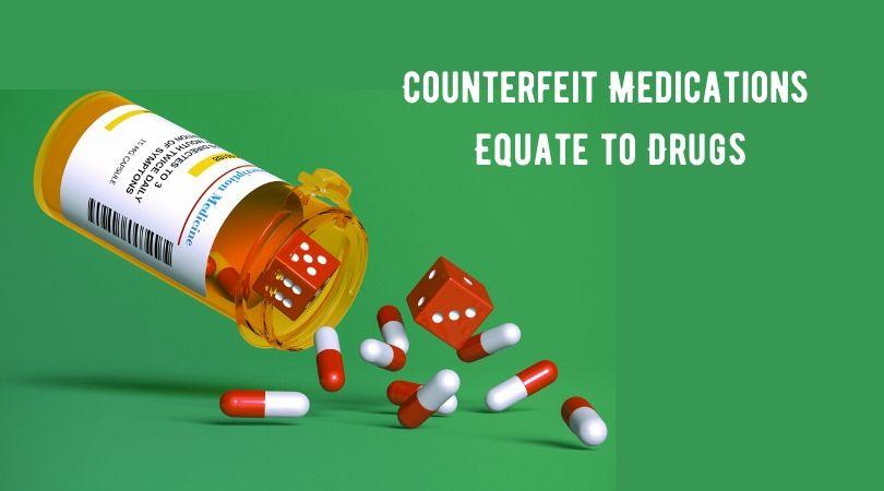 Counterfeit Medications Equate to Drugs